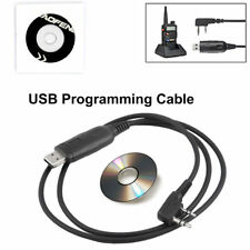 NEW 2Pin Programing Cable Program Software CD for Baofeng UV-5R BF-888S Radio AU