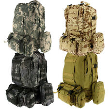 50L Molle Tactical 3 Day Assault Military Army Rucksack Backpack Camping Bag