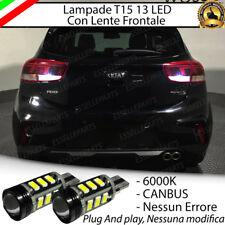 LAMPADE RETROMARCIA 13 LED T15 W16W CANBUS PER KIA RIO 4 IV 6000K NO ERROR