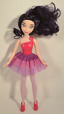 "RARE 9.5"" Vidia Purple Fairies Tinker Bell Friend Figure Barbie Doll 2013 Jakks"