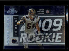 JAMES LAURINAITIS 2009 PLAYOFF CONTENDERS ROOKIE TICKET AUTOGRAPH AUTO AB8200