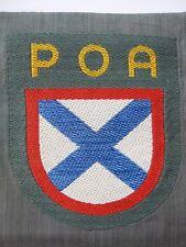 Mangas escudo ruso ejército de liberación manga Poa insignia voluntarios roa Patch
