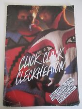1980s Click, Clack, Cleckheaton Knitting Pattern Book - Sweaters for Family