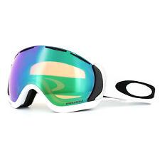 b49bac7b83 Oakley Ski Goggles Canopy OO7047-65 Matt White Prizm Jade Iridium