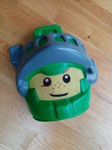 Lego Nexo knights kids face Mask, green, Costume Accessory, fancy dress