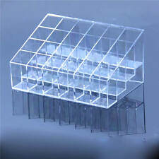 Clear Acrylic Make up Box Brush Organiser Cosmetic Display Stand Storage Case