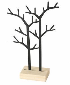 Metall Schmuckständer schwarz 32cm - Schmuckbaum Schmuck Organizer Schmuckhalter