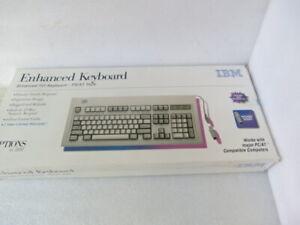 IBM KB-454 ENHANCED -101 KEYBOARD –PS / AT STYLE 42H1292 VINTAGE