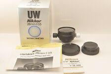 Nikon UW-Nikkor 28mm 1:3.5 for NIKONOS MINT from Japan