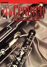 "BELWIN-21st CENTURY BAND METHOD LEVEL 2 ""BASSOON"" MUSIC BOOK-BRAND NEW ON SALE!!"