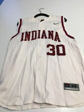 Game Worn Used Indiana Hoosiers Baseball Jersey Nike Size 44 #30