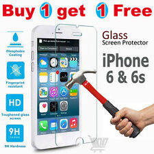 100% Genuine Tempered Glass Film Screen Protector For Apple iphone 6S- New