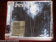 Unholy: Rapture CD 2011 Bonus Tracks Peaceville CDVILED345 Super Jewel Box NEW