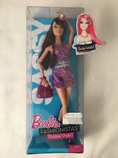 2010 Barbie Fashionistas Swappin' Styles Doll Sassy Doll Mattel T7414 New In Box