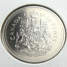 1996 Canada 50 Cents Half Dollar Specimen Uncirculated Canadian Coin Fifty N663