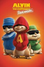 ALVIN & THE CHIPMUNKS MOVIE POSTER ~ SQEAKQUEL 24x36 Justin Long Matthew Gubler