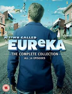 A Town Called Eureka - The Complete Series (DVD) Colin Ferguson
