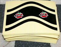 NOS SCHWINN HOMEGROWN tomato FACTORY  bike bicycle decal frame stickers