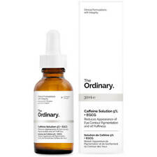 The Ordinary Caffeine Solution 5%+Egcg 30ml- Counteract dark circles & puffiness