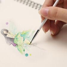 3 kinds Weasel's Hair Hook line Brush Pen Nail Art Watercolor Paint Oil Painting