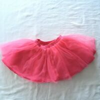 Gymboree Girl's Pink Tulle Ruffle Tutu Skirt Size 2T Fun Twirling Skirt