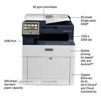 Xerox WorkCentre 6515DNI 6515/DNI COLOR All-in-One Printer 30ppm