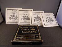 VINTAGE Black Diamond Violin Strings Complete Set - USA - SEE PHOTOS