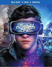 READY PLAYER ONE(BLU-RAY+DVD+DIGITAL)W/SLIPCOVER NEW UNOPENED FREE SHIPPING