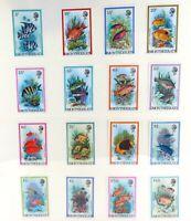 ".MONTSERRAT 1981. JUSTING STUNNING ! QEII SET ""FISHES"" MNH STAMPS"