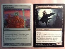 Magic the Gathering Cards Bloodline Keeper & Defense Grid/New Condition!!!