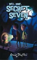 Well Done, Secret Seven by Enid Blyton, Good Used Book (Paperback) Fast & FREE D