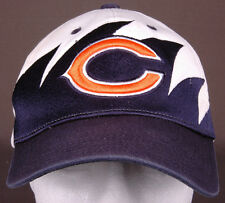 Chigago Bears Hat-Sharktooth-Hook/Loop-Reebok-NFL Football-3D Logo