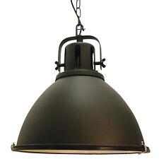 Pendel Industrie Leuchte Lampe Vintage Retro Fabrik Loft JESPER schwarz NEU