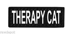 Therapy Cat Patch Extra Label Tag Pack of 2