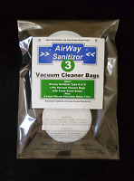 2-Ply Micron Motor Filter 3 Airway Sanitizor Type S 1-Ply Vacuum Bags Scented