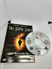 The Sixth Sense DVD Disc + Cover only Free P&P UK Bruce Willis