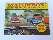 MATCHBOX LESNEY VINTAGE 1969 COLLECTORS CATALOGUE USA 2nd EDITION & PRICES