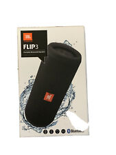 USED- JBL Flip 3 Portable Bluetooth Speaker- GOOD CONDITION- FREE SHIPPING!