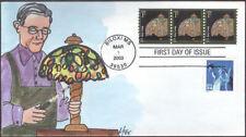 #3758 Tiffany Lamp PNC Fox FDC (05620033758002)