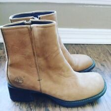 Timberland women leather boots Sz 6.5
