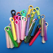 Dental Orthodontic Ligature ties Elastics rubber Bands Braces Multi Color Rings