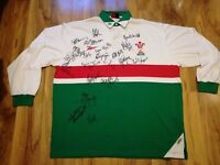 WALES SIGNED RUGBY SHIRT/JERSEY/MAILLOT LIONS- LOOK!!