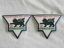Premier League Gold Champions Patches/Badges 2001-2002 Arsenal BN real pics