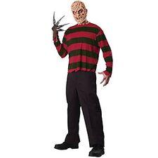 Freddy Krueger Nightmare Elm Street Mask Shirt Glove Costume BLISTER Kit