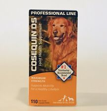 Cosequin DS 110 Tablets Joint Health Supplement Dogs SEALED BOX Exp. 2/2023