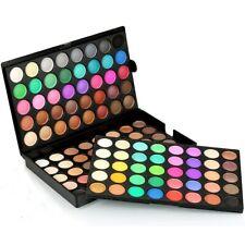 120 Colours Eyeshadow Eye Shadow Palette Makeup Set Nude Natural Matte Glitter