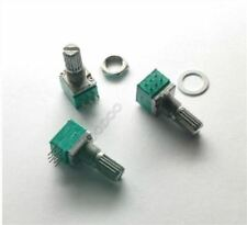 5Pcs B100K 100K Ohm 6 Pin Linear Rotary Potentiometer For Power Amplifier hh
