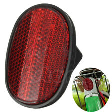 Red Bicycle Bike Rear Fender Safety Warnning Reflector Tail MudGuard Cycling