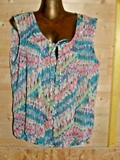 superbe haut / top / blouse  taille 46  Patrice Breal  comme neuf
