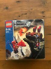 LEGO 8873 Knights Kingdom Fireball Catapult Set New But Dinged Box